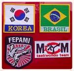 Emblemas - Brasil - Coréia - MCM - FEPAMI