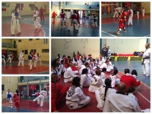 Atleta Rafael Valério visita Equipe de Competição  MCM Taekwondo Team